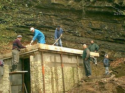 2002 Umbau Schießstand