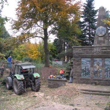 2010 Denkmalpflege dank dem Bataillon