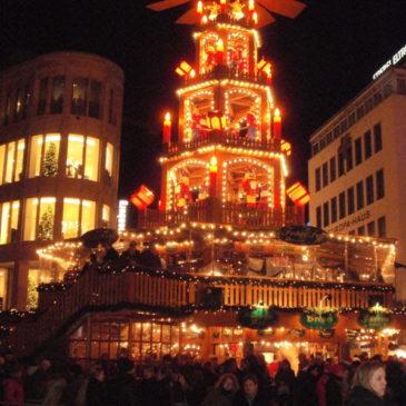 2011 Besuch des Weihnachtsmarktes in Hannover
