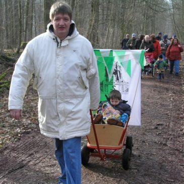 2007 Winterwanderung der 2. Kompanie