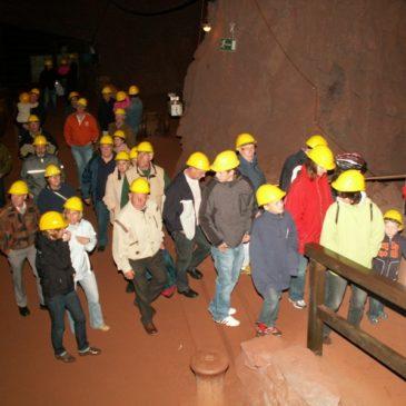 2008 2. Kompanie Familienausflug ins Besucherbergwerk