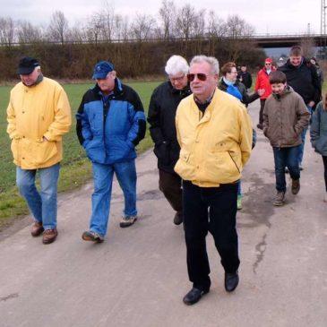 2014 2. Kompanie Winterwanderung zur Mühle in Meißen