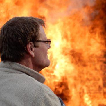 2015 Osterfeuer der Zwoten